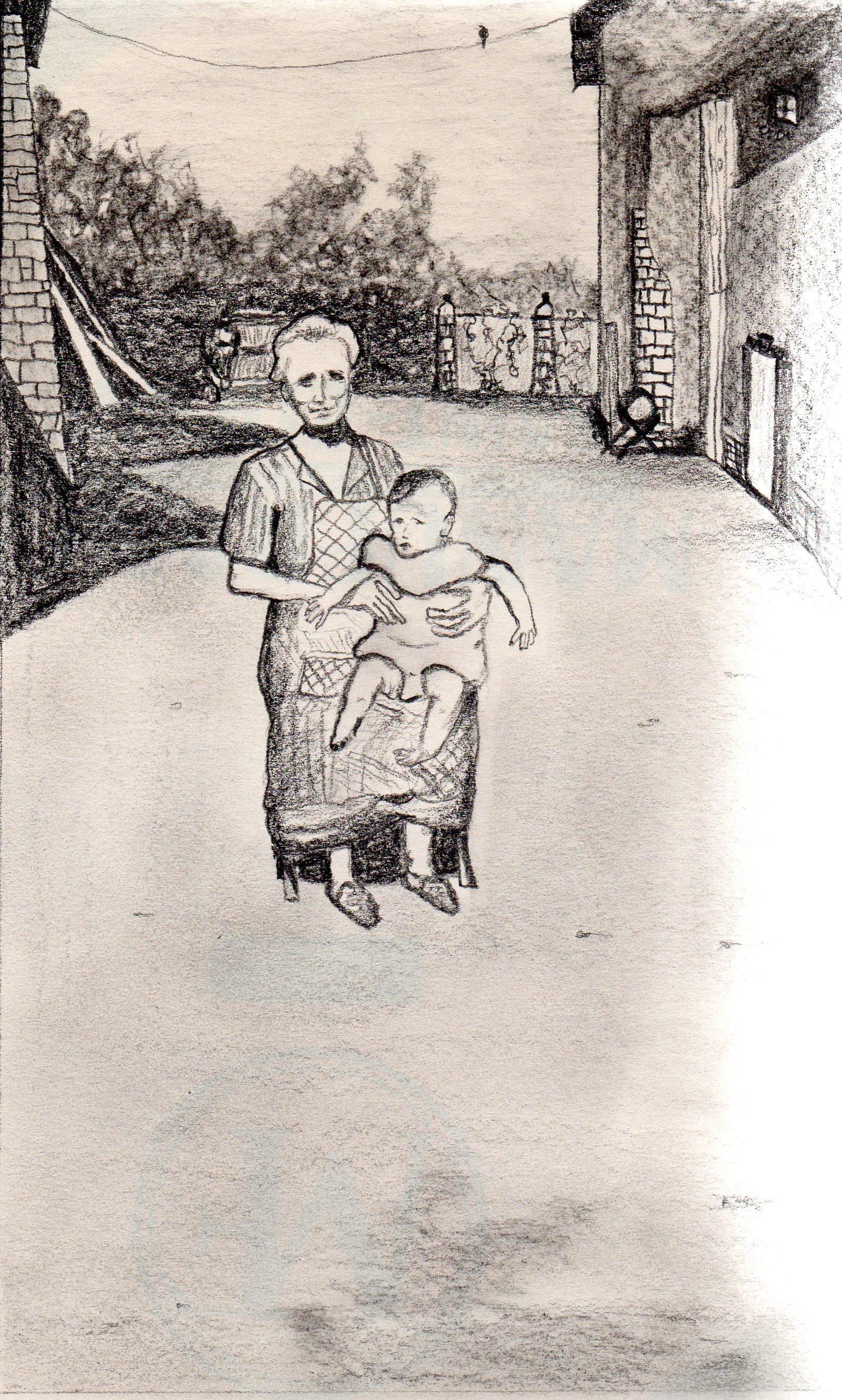 """L'enfant"" - 1999 - p.g. [patrick gourgouillat]"