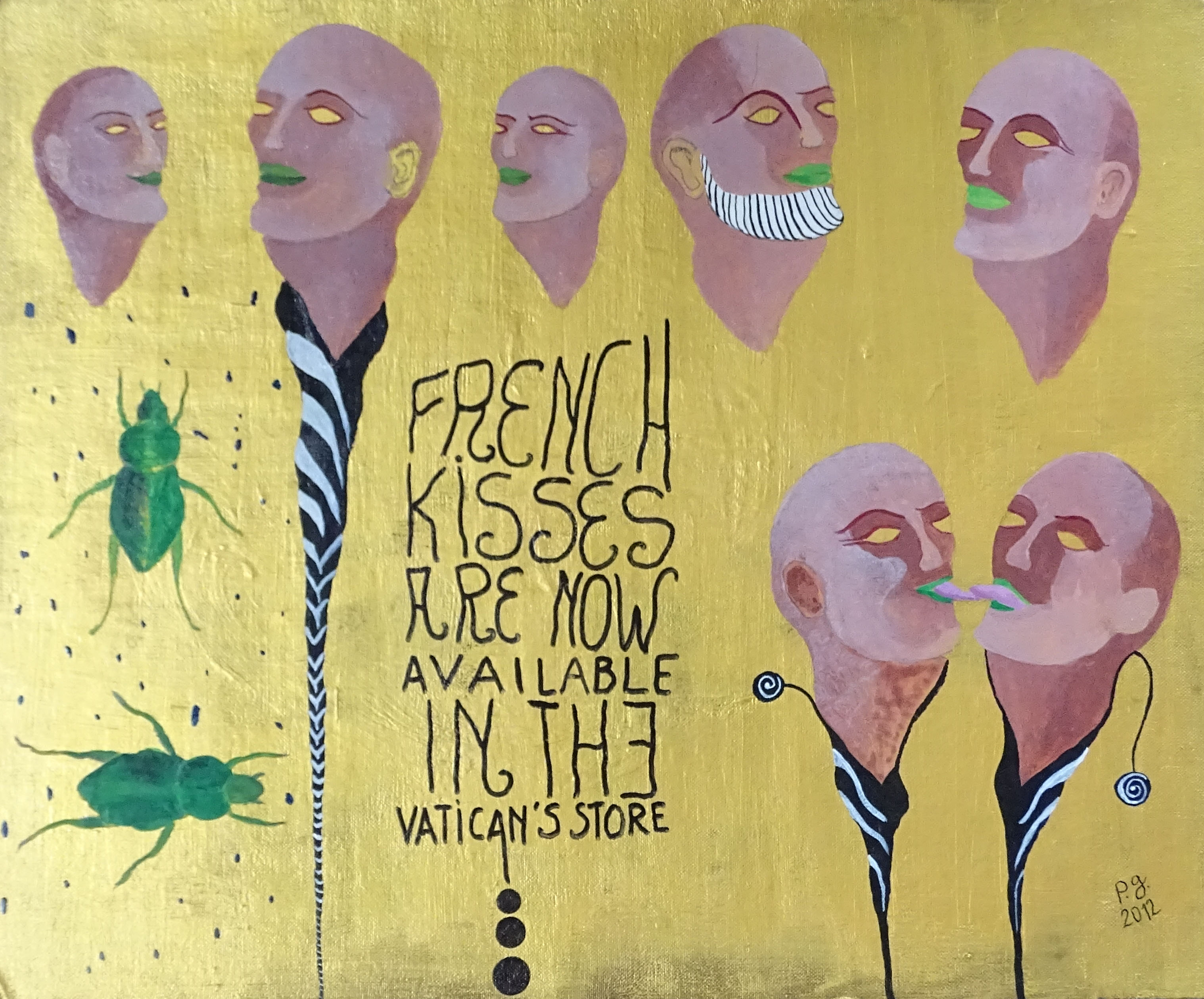 French Kisses - 2012 - p.g. [patrick gourgouillat]