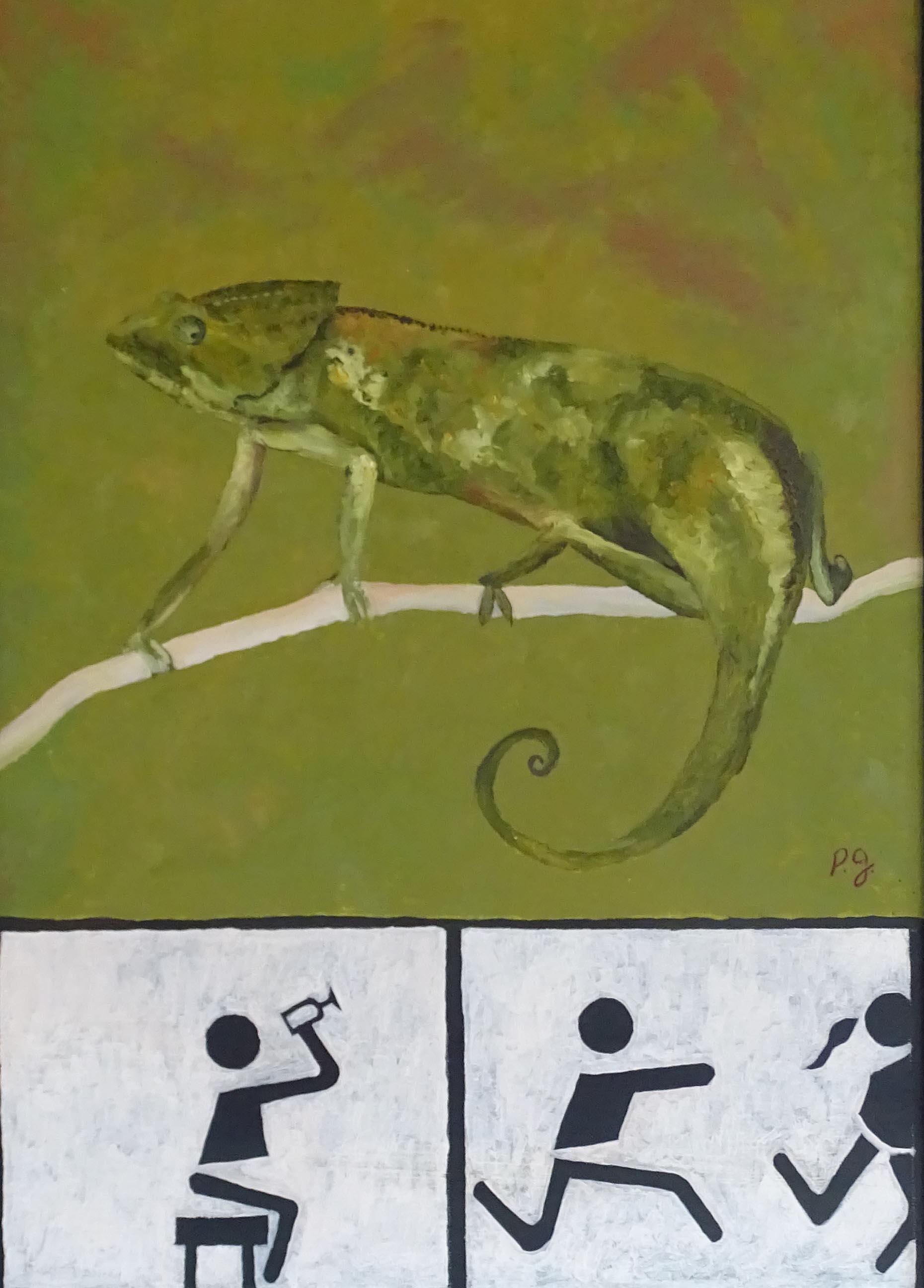 """""""Caméléon"""" - 2005 - p.g. [patrick gourgouillat]"""