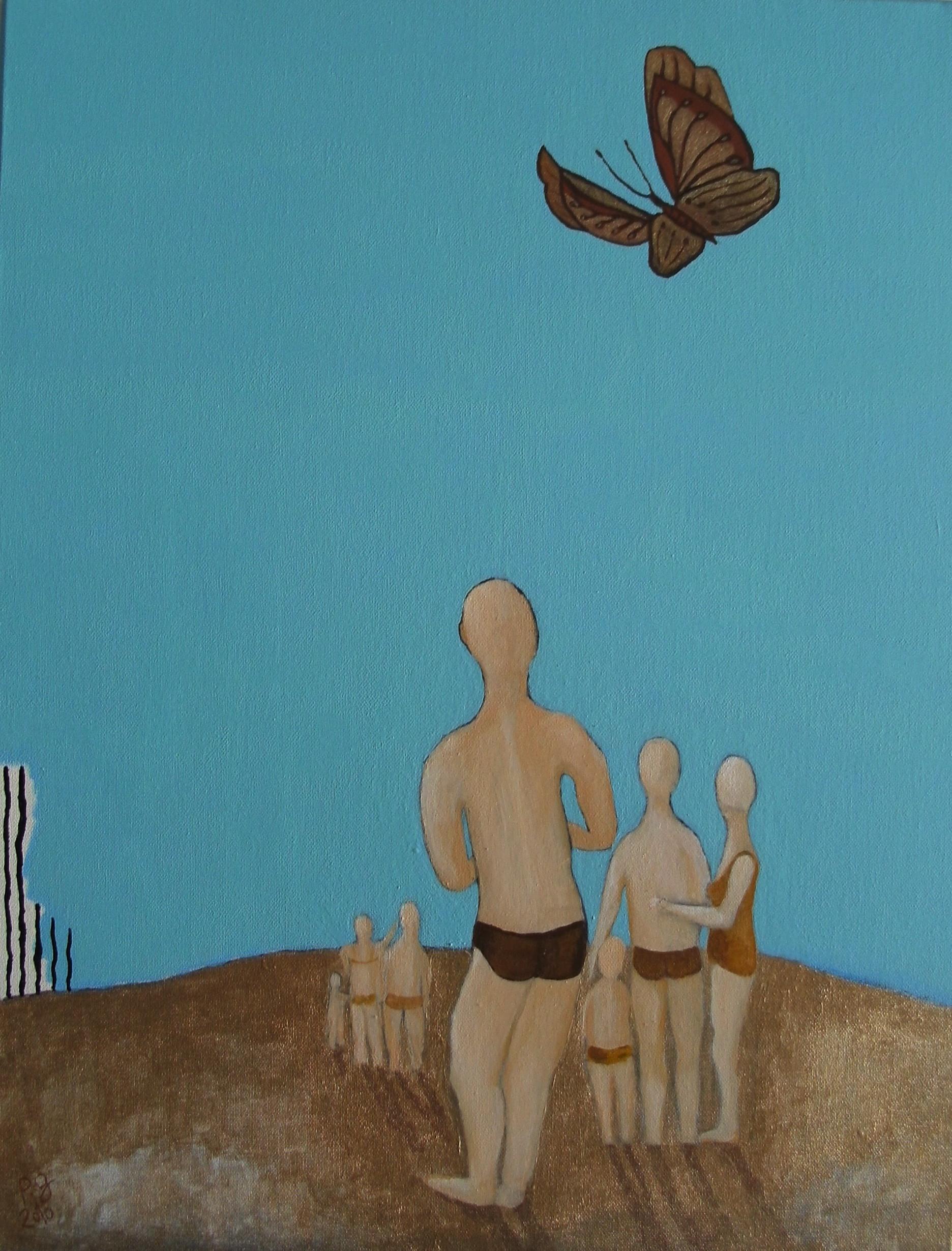 """Le papillon"" - 2010 - p.g. [patrick gourgouillat]"