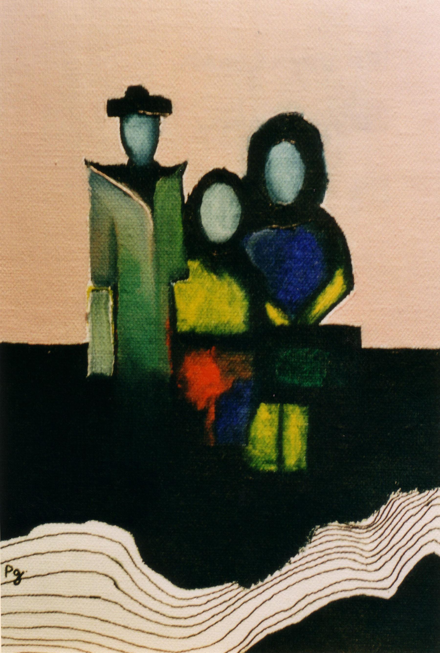 """""""Les voyageurs"""" - 1997 - p.g. [patrick gourgouillat]"""