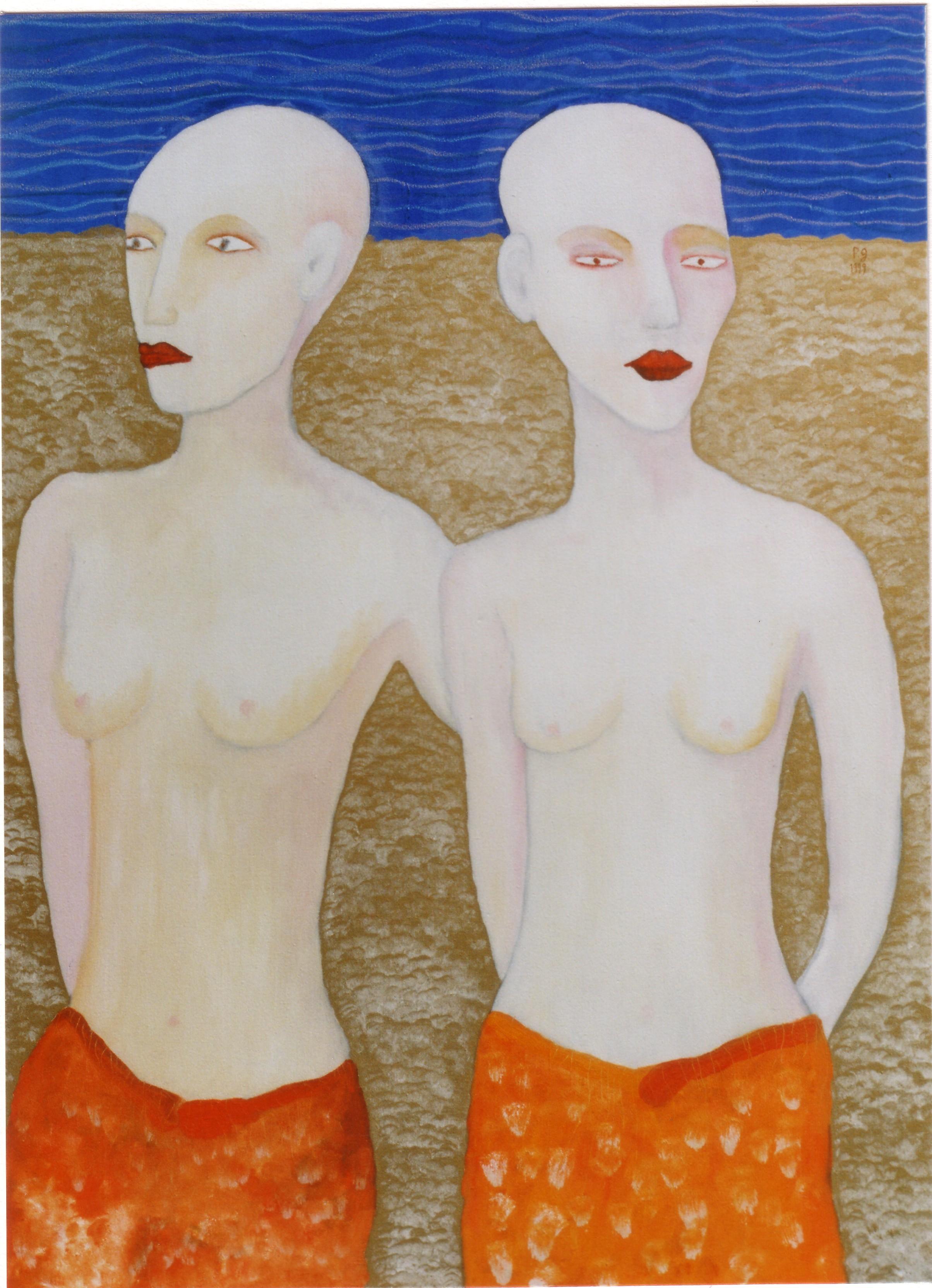 """Les amoureuses"" - 1999 - p.g. [patrick gourgouillat]"
