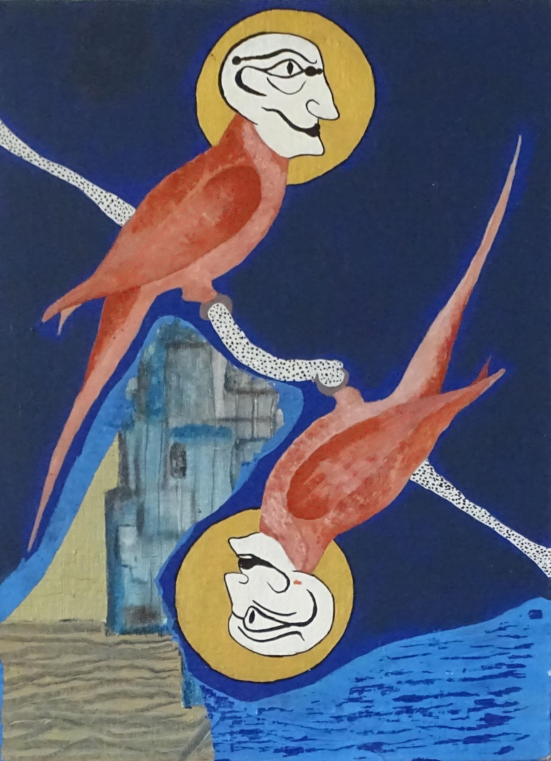 """""""Les oiseaux du château"""" - 2017 - p.g. [patrick gourgouillat]"""