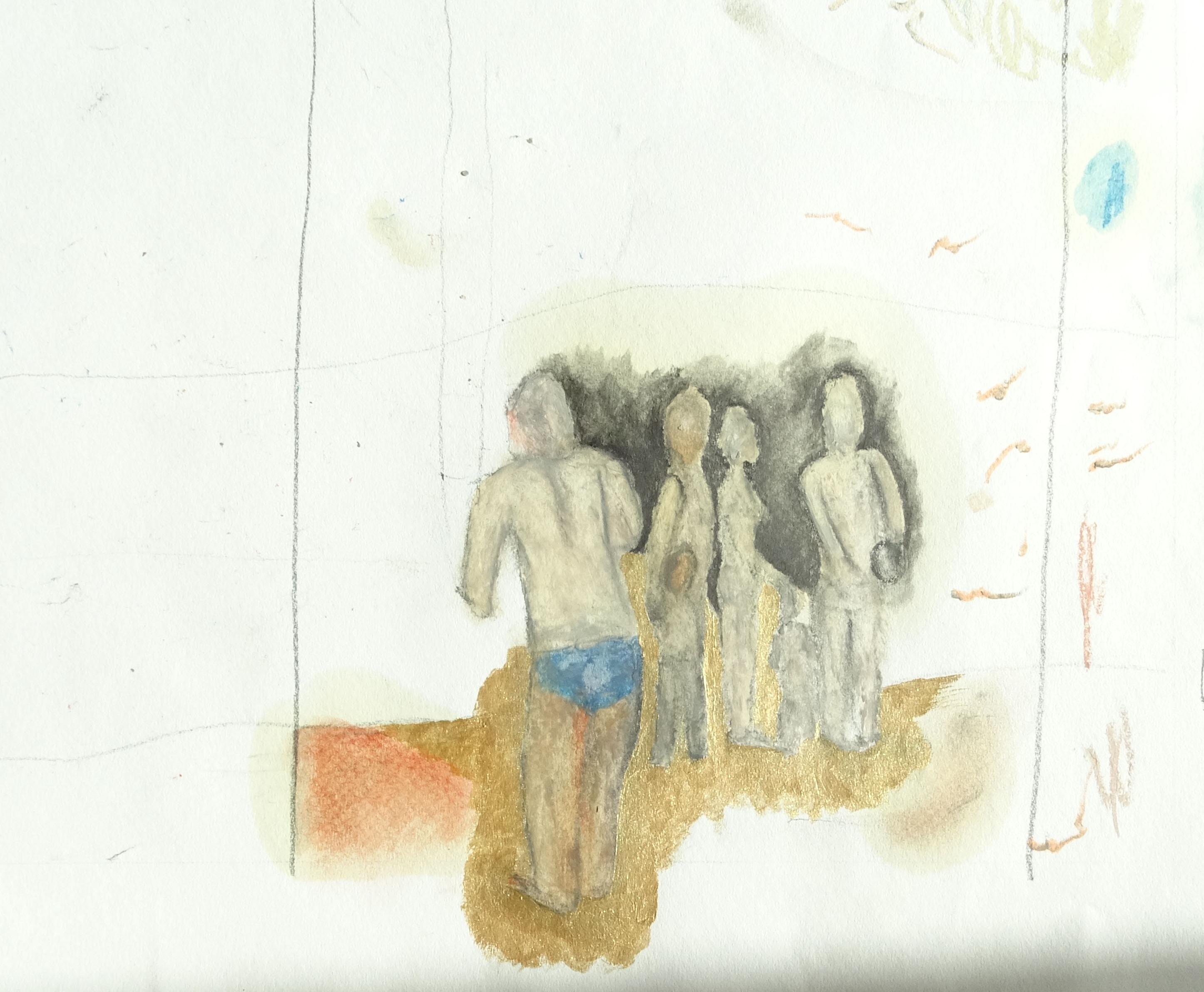 """Masse noire"" - 2008 - p.g. [patrick gourgouillat]"