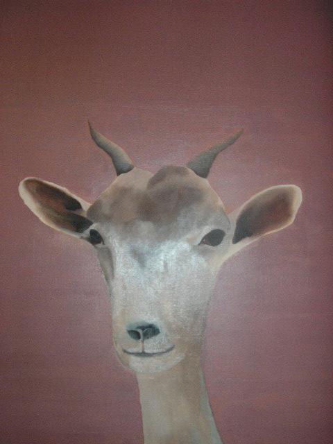 """Photomaton : chèvre"" - 2004 - p.g. [patrick gourgouillat]"