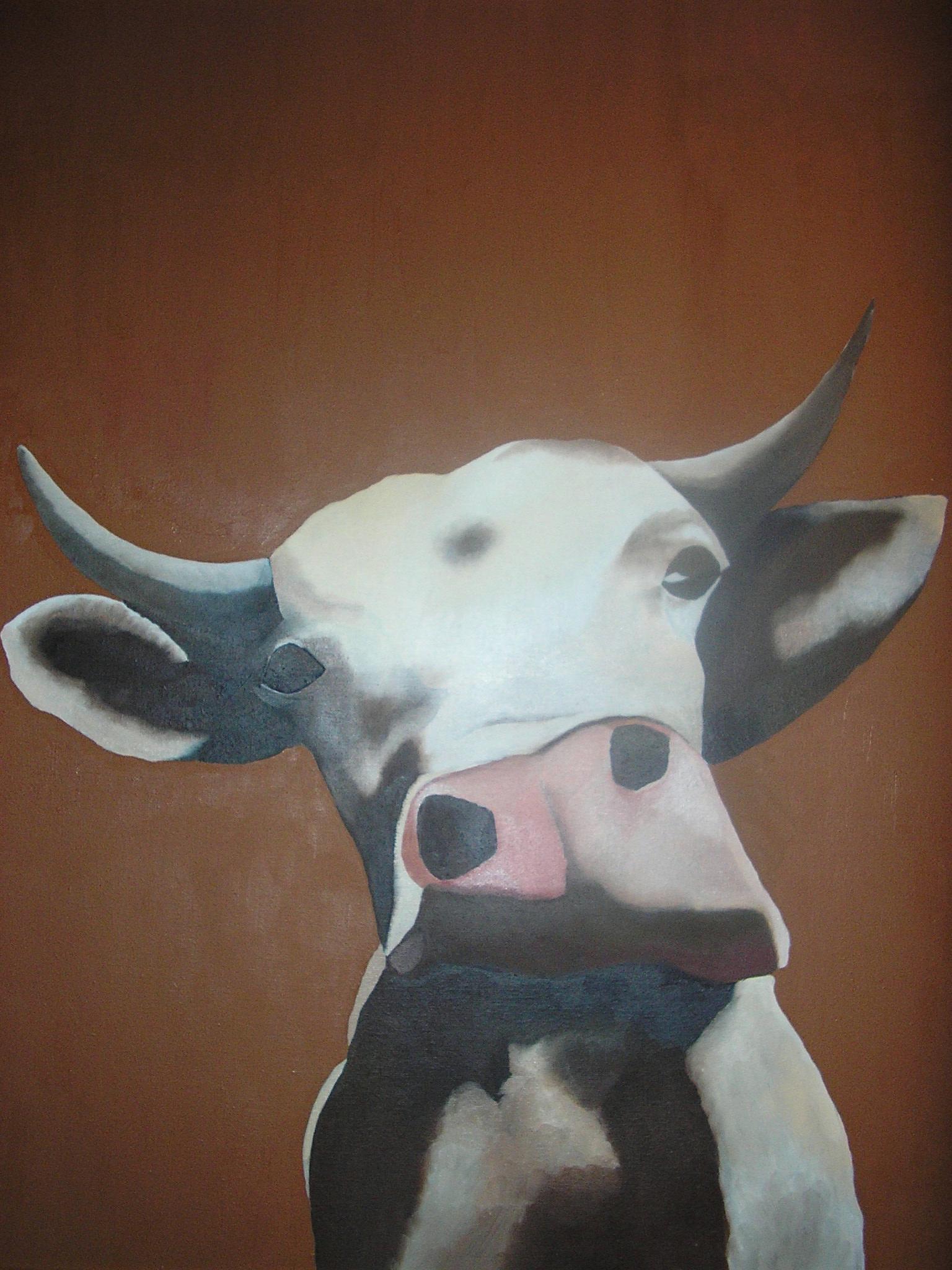"""Vache"" - 2006 - p.g. [patrick gourgouillat]"