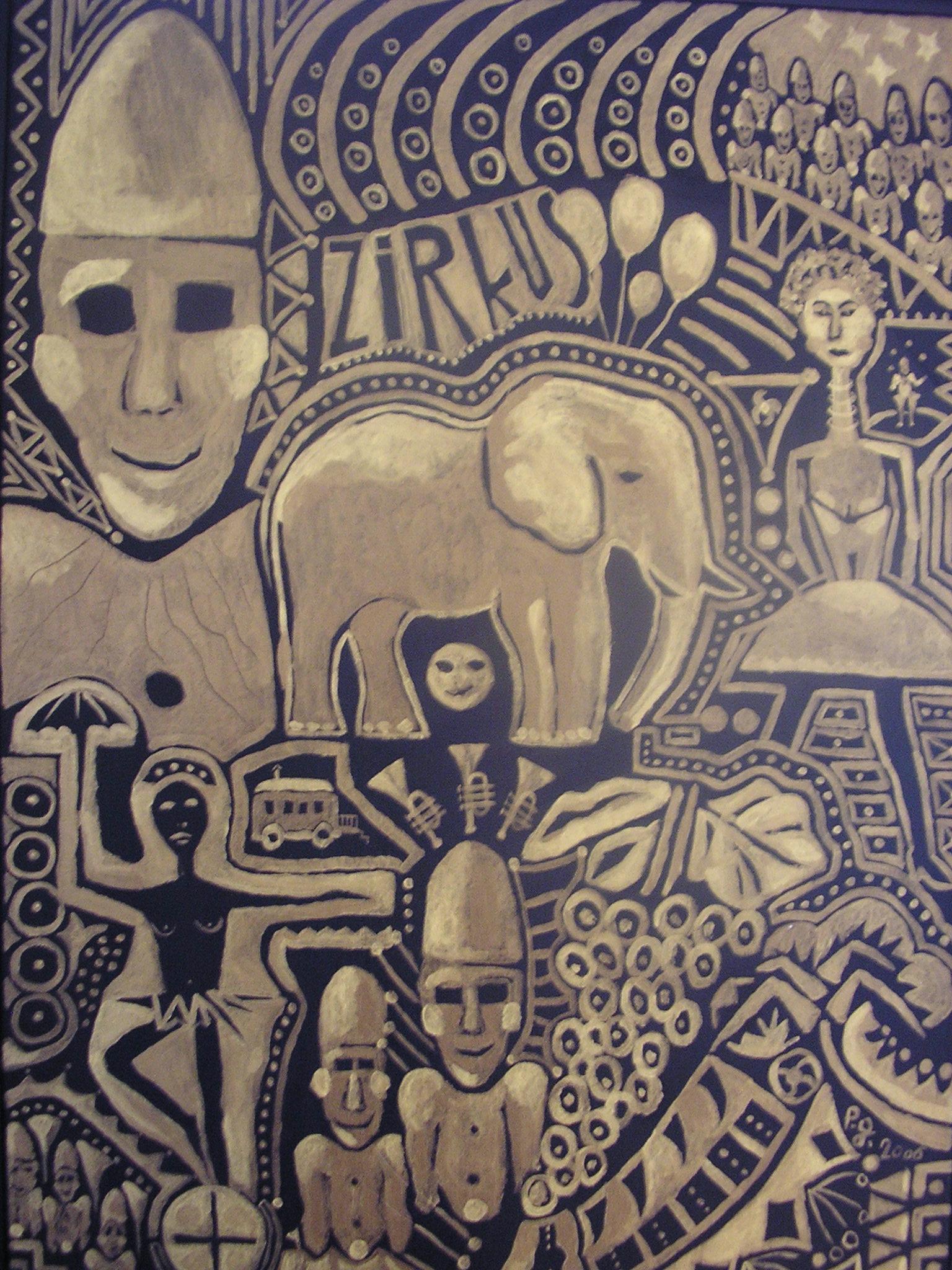 """Zirkus"" - 2004 - p.g. - [patrick gourgouillat]"