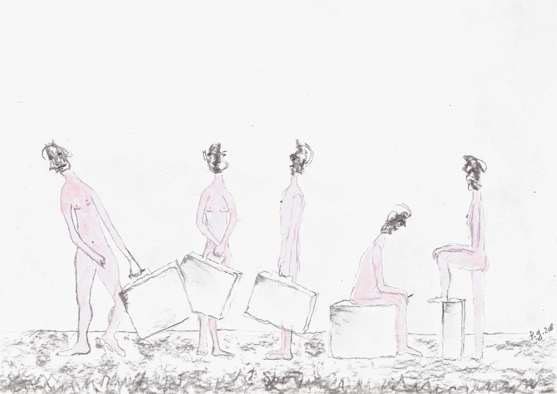 """The Birds"" - patrick gourgouillat - 2018"