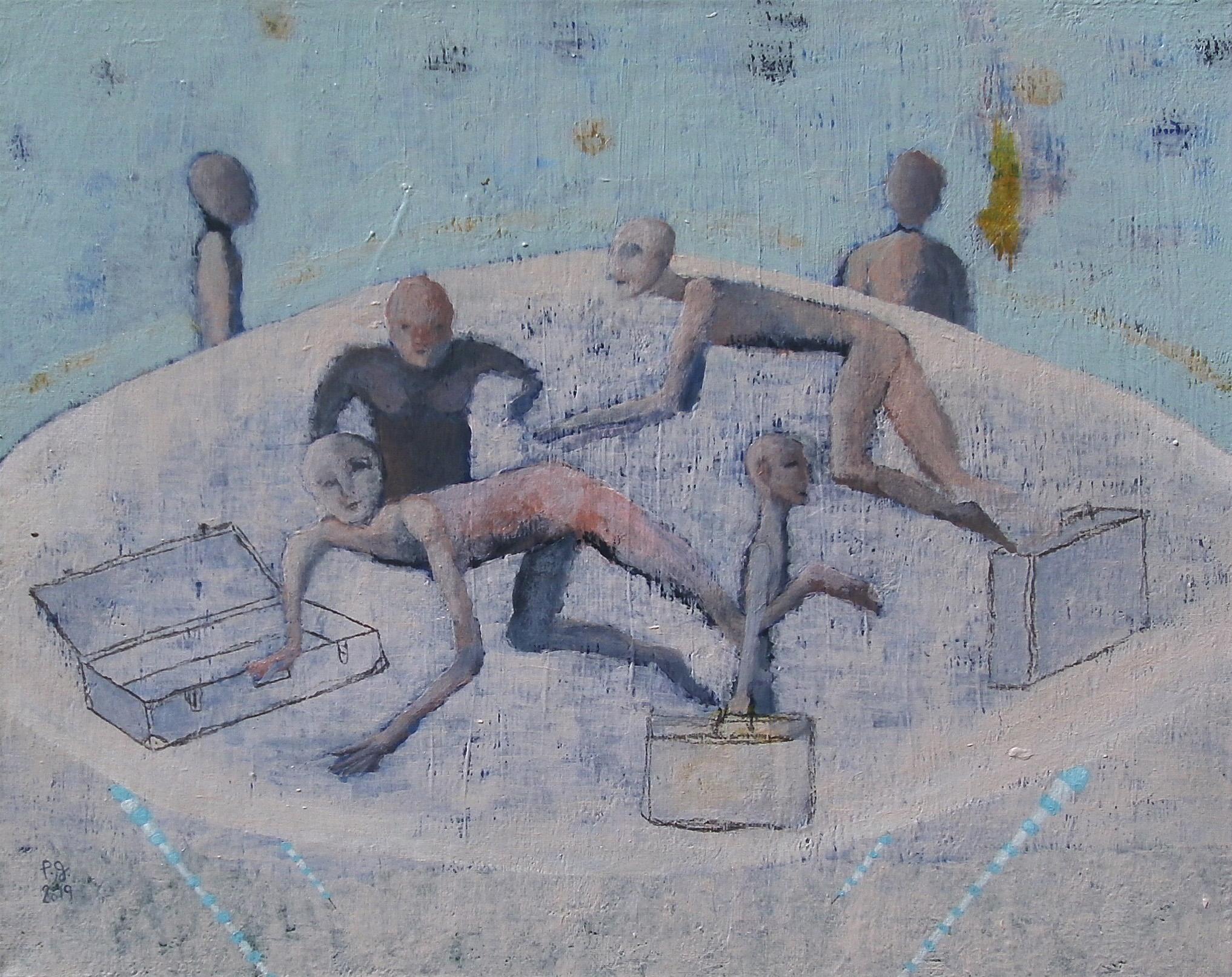 """Les égarés"" - patrick gourgouillat - 2019"