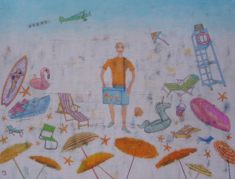 """""""Le marchand de glaces"""" - patrick gourgouillat - 2019"""