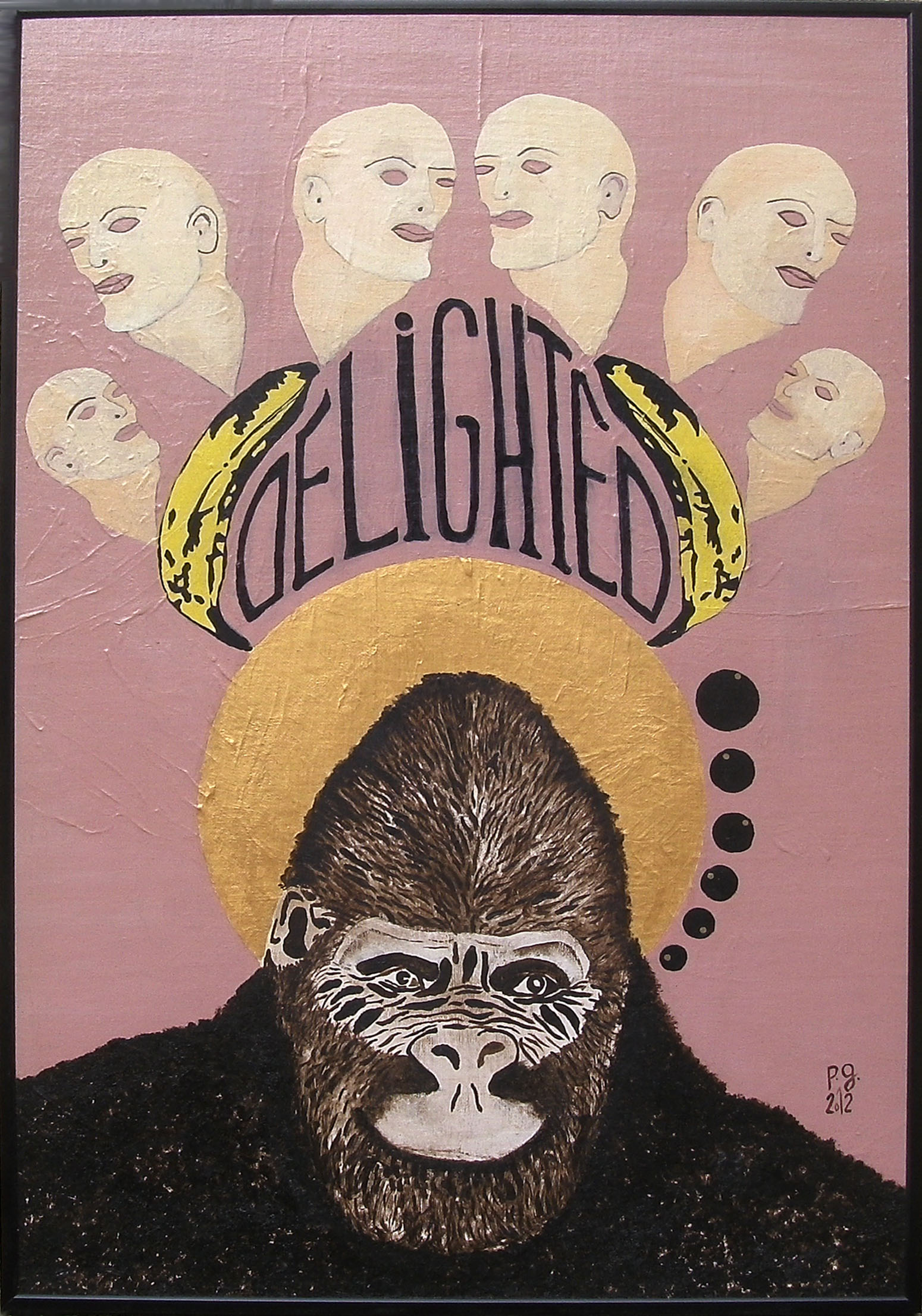 """Gorilla Says Delighted"" - patrick gourgouillat - 2012"