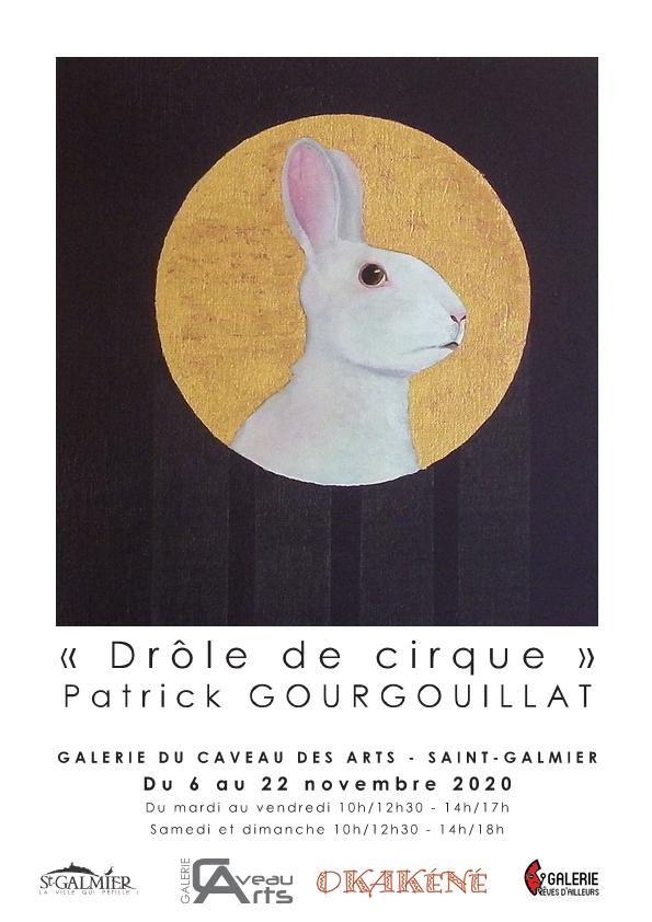 Exposition Patrick Gourgouillat à Saint-Galmier