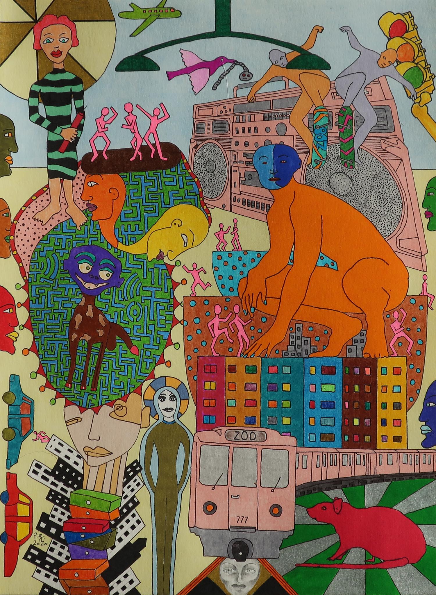 """Zoo_Zoo"" - patrick gourgouillat - 2020"