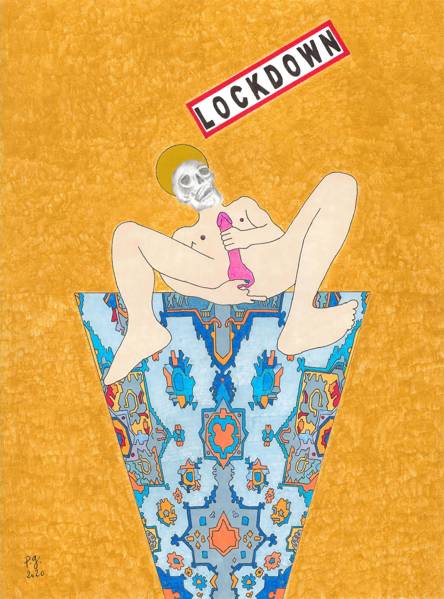 """""""Lockdown [Viva La Vida]"""" - patrick gourgouillat - 2020"""