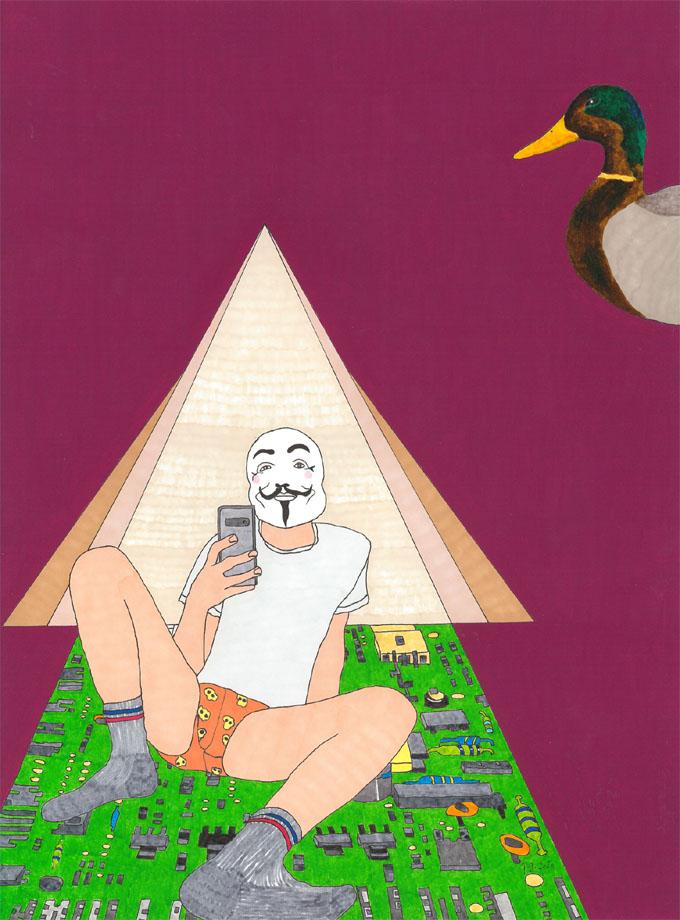 """Migratory Birds [Viva La Vida]"""" - patrick gourgouillat - 2021"""