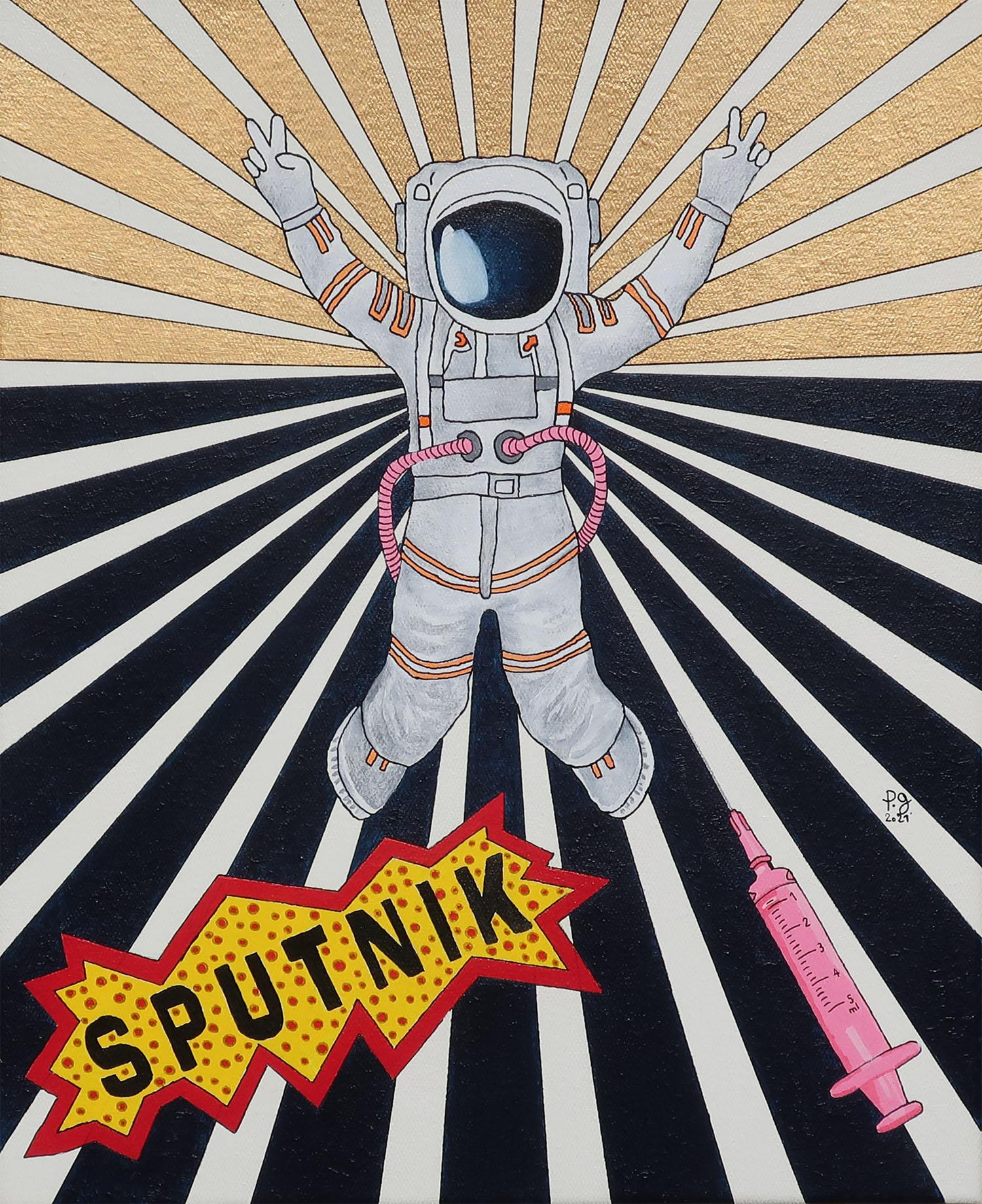 """patrick gourgouillat - """"Sputnik [Viva La Vida]"""" - 2021"""