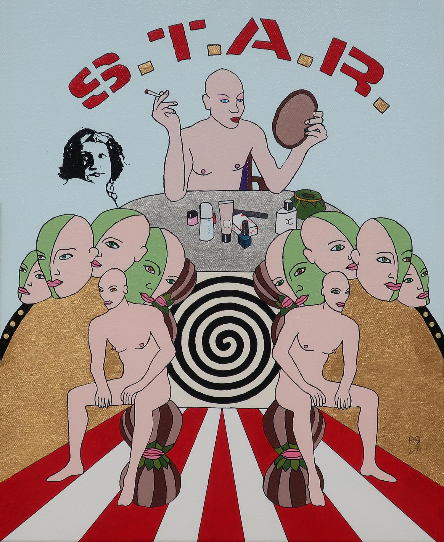 patrick gourgouillat - S.T.A.R. (Street Transvestite Action Revolutionaries) _ Feat. Sylvia Rivera [Viva La Vida] - 2021
