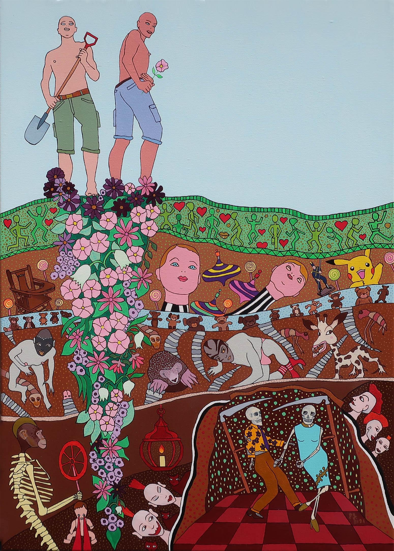 """""""The Gardeners"""" - patrick gourgouillat - 2021"""