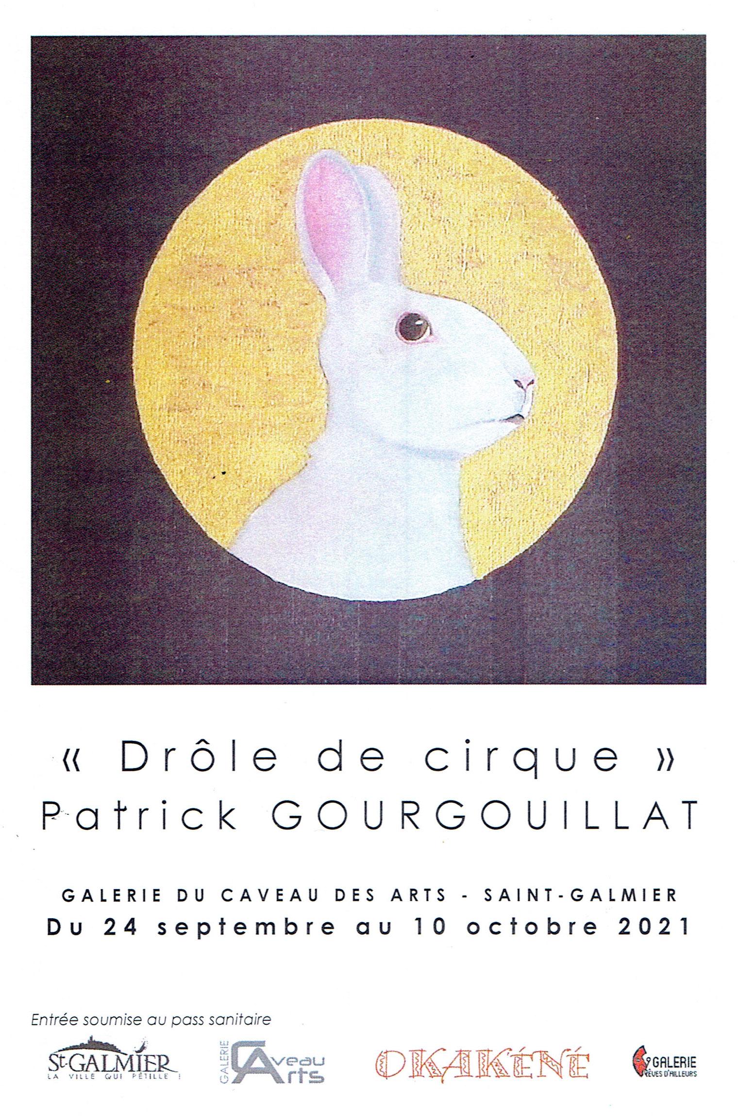 Exposition Patrick Gourgouillat - Caveau des Arts - Saint-Galmier